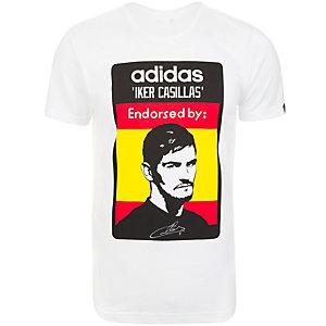 adidas Casillas Fanshirt Herren weiß