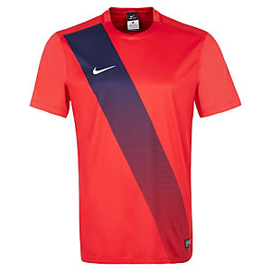 Nike Sash Fußballtrikot Herren rot / weiß