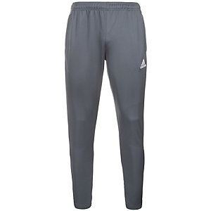 adidas Core 15 Trainingshose Herren grau / weiß