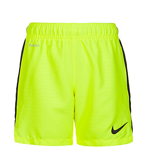 Nike Max Graphic Fußballshorts Kinder lime / schwarz
