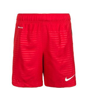 Nike Max Graphic Fußballshorts Kinder rot / schwarz