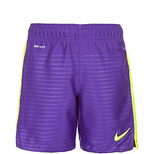 Nike Max Graphic Short Kinder Fußballshorts Kinder lila / lime