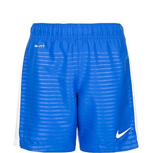 Nike Max Graphic Fußballshorts Kinder blau / weiß
