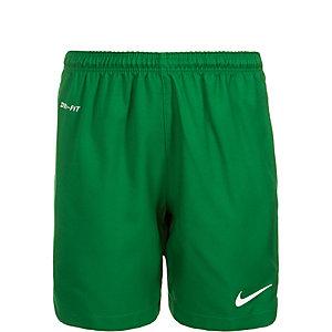 Nike Laser II Fußballshorts Kinder grün / weiß