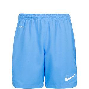 Nike Laser II Fußballshorts Kinder blau / weiß