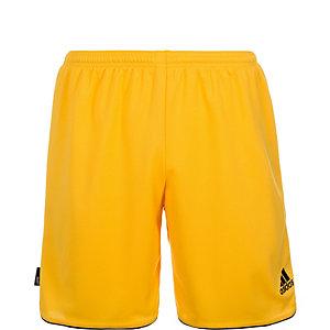 adidas Parma II Fußballshorts Kinder gelb / schwarz