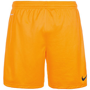 Nike Park Knit Fußballshorts Herren gold / schwarz