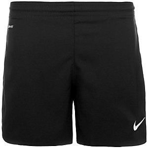 Nike Woven Fußballshorts Damen schwarz / weiß