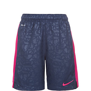 Nike Strike Longer Printed Graphic Fußballshorts Kinder dunkelblau / lila
