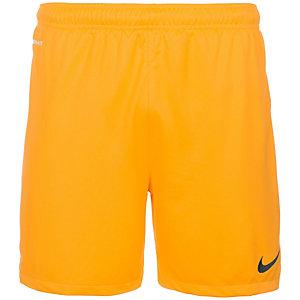 Nike Dri-FIT II Knit Fußballshorts Herren gold / schwarz
