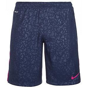 Nike Strike Longer Printed Graphic Fußballshorts Herren dunkelblau / lila