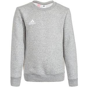 adidas Core 15 Sweatshirt Kinder grau / weiß