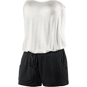 Lascana Jumpsuit Damen schwarz / weiß
