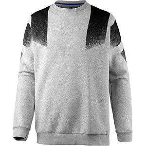 adidas Sweatshirt Herren grau/schwarz