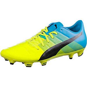 PUMA evoPower 2.3 FG Fußballschuhe Herren gelb/grün/blau