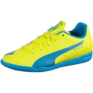 PUMA evoSpeed 5.4 IT Fußballschuhe Kinder gelb/blau