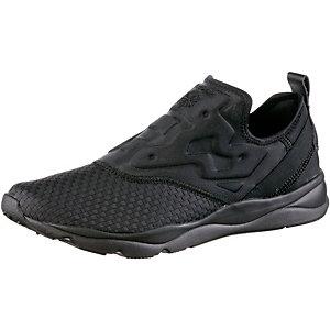Reebok Furylite Slipon Sneaker Herren schwarz