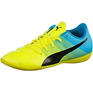 PUMA evoPower 4.3 IT Fußballschuhe Kinder gelb/grün/blau