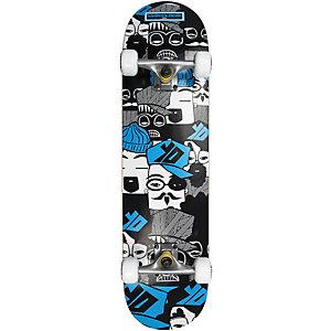 AREA SuperPEOPLEboard Skateboard-Komplettset Blau