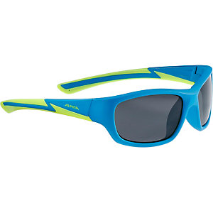 ALPINA Sportbrille blue matt-lime