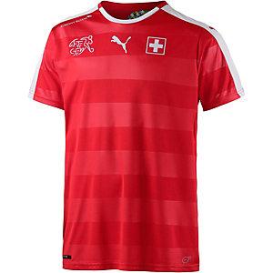 PUMA Schweiz EM 2016 Heim Fußballtrikot Herren rot/weiß