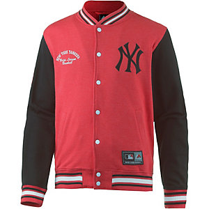 Majestic Athletic New York Yankees Collegejacke Herren rot/schwarz