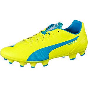PUMA evoSpeed 4.4 FG Fußballschuhe Herren gelb/blau
