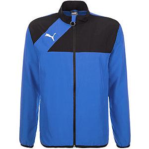 PUMA Esquadra Poly Trainingsjacke Herren blau / schwarz