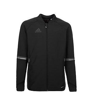 adidas Condivo 16 Trainingsjacke Kinder schwarz / grau