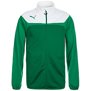 PUMA Esito 3 Tricot Trainingsjacke Herren grün / weiß
