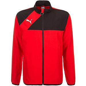 PUMA Esquadra Woven Trainingsjacke Herren rot / schwarz