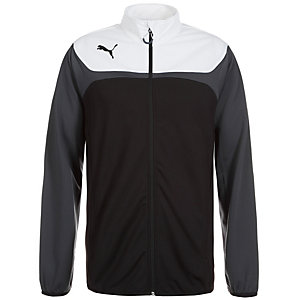 PUMA Esito 3 Tricot Trainingsjacke Herren schwarz / weiß