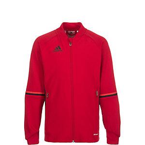 adidas Condivo 16 Trainingsjacke Kinder rot / schwarz