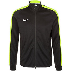 Nike Team Authentic N98 Trainingsjacke Herren schwarz / lime