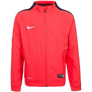 Nike Squad 15 Sideline Trainingsjacke Kinder rot / blau / weiß