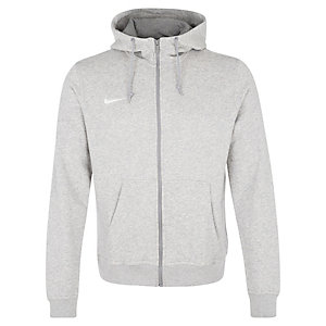 Nike Team Club Trainingsjacke Herren grau / weiß