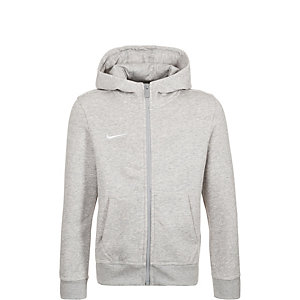 Nike Team Club Trainingsjacke Kinder grau / weiß