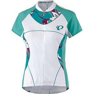 Pearl Izumi Select W´s Ltd Fahrradtrikot Damen weiß/türkis