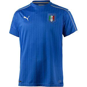 PUMA Italien EM 2016 Heim Fußballtrikot Herren blau/weiß