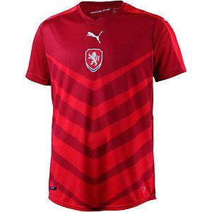 PUMA Tschechien EM 2016 Heim Fußballtrikot Herren rot
