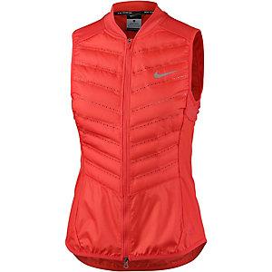 Nike Aeroloft 800 Daunenweste Damen rot