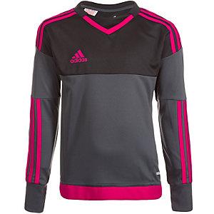 adidas Top 15 Torwarttrikot Kinder dunkelgrau / pink
