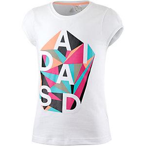 adidas Printshirt Jungen weiß/bunt