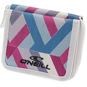 O'NEILL AC Essential Wallet Geldbeutel Damen pink/weiß/blau