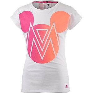 adidas Printshirt Mädchen weiß/bunt