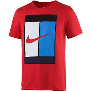 Nike Oz Court Logo Printshirt Herren rot