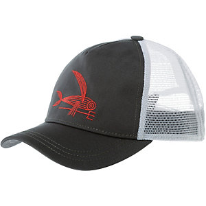 Patagonia Deconstructed Flying Fish Layback Cap Damen dunkelgrau