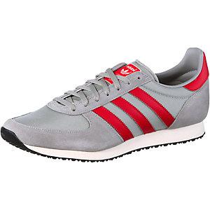 adidas ZX Racer Sneaker Herren grau/rot