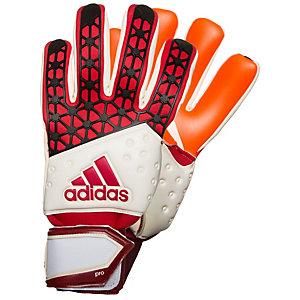adidas ACE Zones Pro Torwarthandschuhe Herren rot / weiß