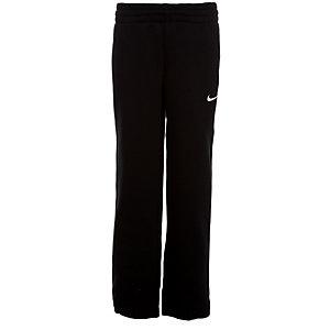 Nike Fleece Cuffed Trainingshose Kinder schwarz / weiß